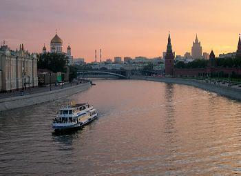 Moscow -sunset